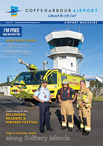Coffs Harbour Airport Magazine Issue 46 cover