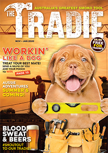 The Tradie Magazine cover Nov 2019-Jan 2020 issue